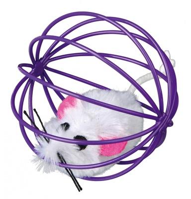 Trixie №4115 - мышка в шарике 6 см