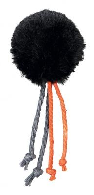 Trixie №4126 - мячик меховый с пером 4 см