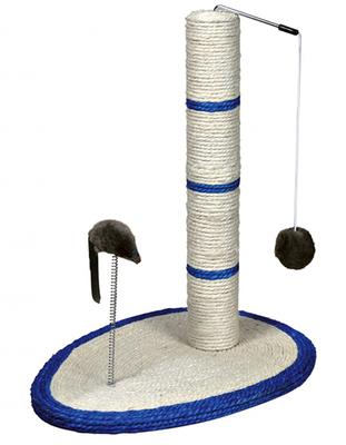 Trixie №4306 - дряпка-столбик с мышкой 50 см