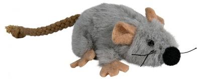 Trixie №45735 - мышка плюшевая серая с мятой 7 см