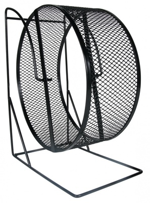 Trixie №61001 - колесо металлическое на подставке для грызунов 17 см
