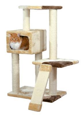 Trixie Almeria - игровой городок-домик с дряпкой для котов, 43601