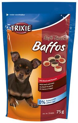 Trixie Baffos говядина, желудок - витамины для собак 75гр