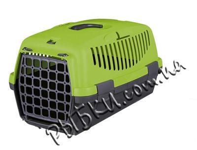 Trixie Capri 1 - переноска для котов и маленьких собак зеленая, 39814