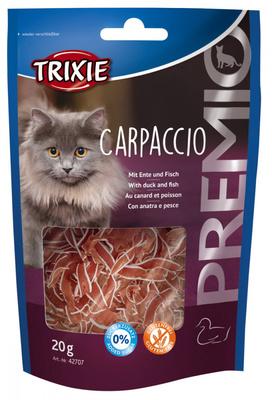 Trixie Carpaccio - лакомство для кошек, утка и рыба, 20 г