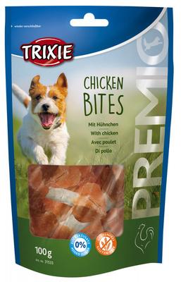 Trixie Chicken Bits лакомство для собак куриные кусочки, 100 г