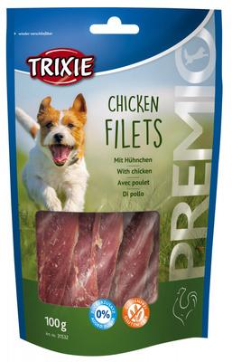 Trixie Chicken Filets лакомство для собак куриное филе, 100 г
