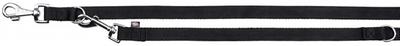 Trixie Classic - перестежка нейлоновая M-L 2м/20мм черная