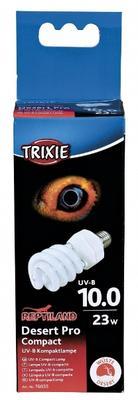 Trixie Compact Lamp Desert Pro Compact 10.0 - ультрафиолетовая лампа для пустынных животных, 76035