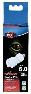 Trixie Compact Lamp Tropic Pro Compact 6.0 - ультрафиолетовая лампа для тропических животных, 76034