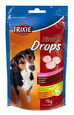 Trixie Drops йогурт - витамины для собак, 200г