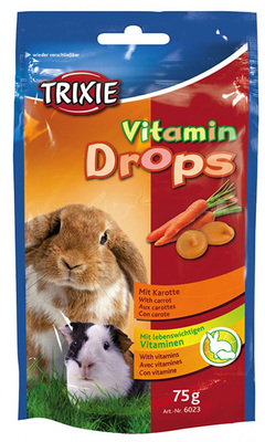Trixie Drops каротин - витамины для грызунов, 75 г
