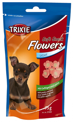 Trixie Flowers ягненок, курица - витамины для собак 75гр
