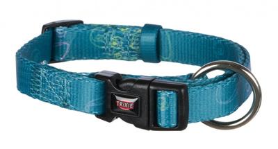 Trixie Jimmy - ошейник синий с лапками, размер S-M 30-45см/15мм