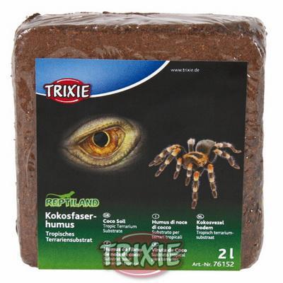 Trixie - кокосовый субстрат 9л/650гр, 76153