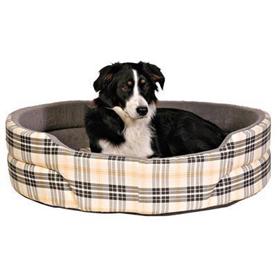 Trixie Lucky - лежак для собак бежево-серый 65х55 см, 37023