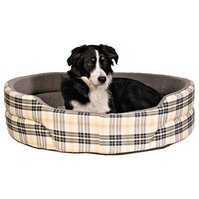 Trixie Lucky - лежак для собак бежево-серый 45х35 см, 37021
