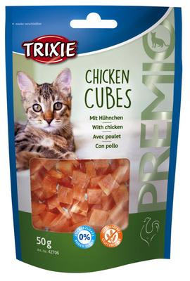 Trixie Premio Chicken Cubes лакомство для кошек куриные кубики 50 г