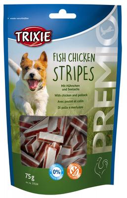 Trixie Premio лакомые палочки для собак курица и сайда, 75 г