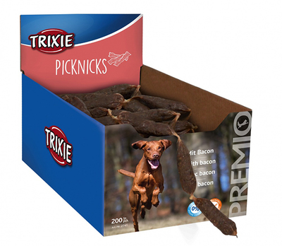 Trixie Premio Picknicks - лакомство сосиски с беконом, 1 шт