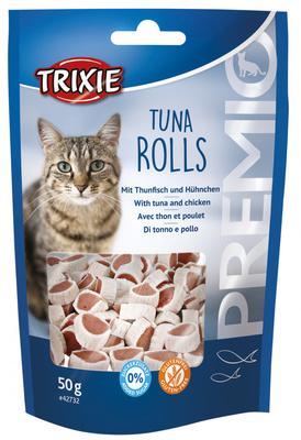 Trixie Premio Tuna Rolls лакомство для кошек с тунцом 50 г