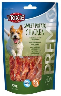 Trixie Sweet Potato Chicken лакомство для собак с курицей и сладким картофелем, 100 г
