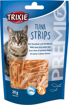 Trixie Tuna Strips 20 г лакомство для кошек, полоски тунца