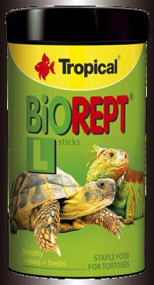 Tropical BioRept L корм для сухопутных черепах, 250 мл