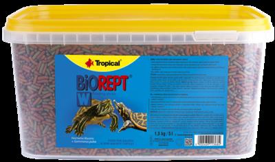 Tropical BioRept W корм для водных черепах, 5 л