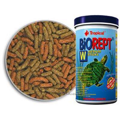 Tropical BioRept W - корм для водных черепах, 1 л, 11366