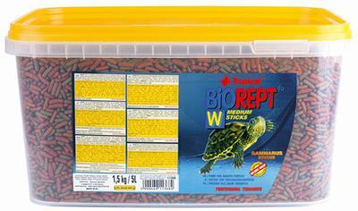 Tropical BioRept W - корм для водных черепах, 5 л, 11368