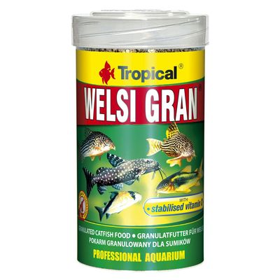 Tropical Welsi Gran корм для донных рыб, 100 мл