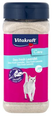 Vitakraft Deo Fresh с лавандой 720 г - дезодорант для кошачьего туалета
