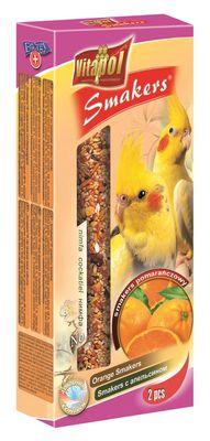 Vitapol колба для нимф с апельсином, 2 шт