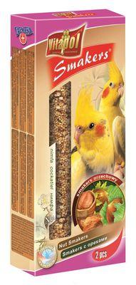 Vitapol колба для нимф с орехом, 2 шт