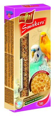 Vitapol колба для попугаев с мёдом, 2 шт срок 07.10.21