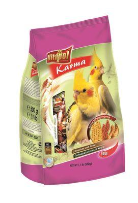 Vitapol корм для нимф, мягкая упаковка, 500 г