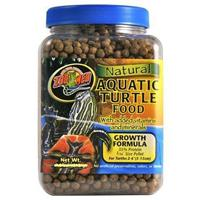 Zoo Med Natural Aquatic Turtle Food Growth Formula - корм для водных черепах, 212 гр, ZM-51BE