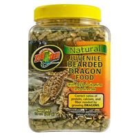 Zoo Med Natural Bearded Dragon Food Juvenile Formula - корм для агам, 567 гр, ZM-74E